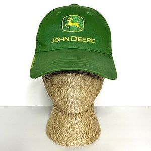 John Deere Green Logo Embroidered Owners Hat